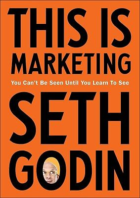 This is Marketing by Seth Godin Paperback Book Brand New Free Shipping Worldwide
