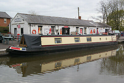 13/07/2019 - Summer Wine - 7 night narrow boat canal holiday in Staffordshire