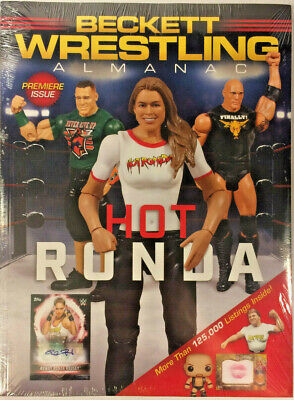 New Beckett Wrestling Almanac Price Guide 1st Edition 2019 Premiere Issue Rousey