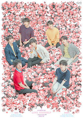 BTS World Tour LOVE YOURSELF -SPEAK YOURSELF- Official Goods Merchandise Japan