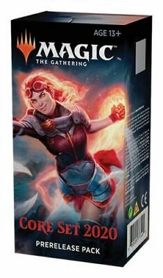 Magic the Gathering Core Set 2020 Factory Sealed PRE RELEASE CARD BOX KIT