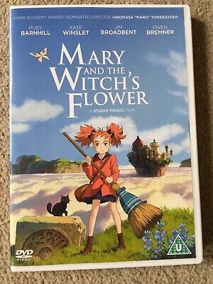 Mary and the Witches Flower (DVD) By Anime Uk