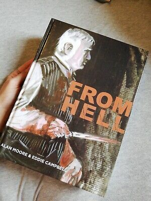 FROM HELL  JACK THE RIPPER - Alan Moore & Eddie Campbell Graphic Novel HARDCOVER