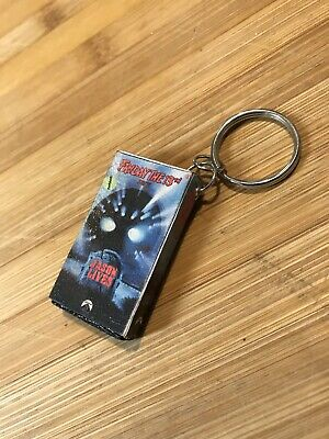 Friday The 13th Part 6 VHS Horror keychain 80's Horror Jason Voorhees