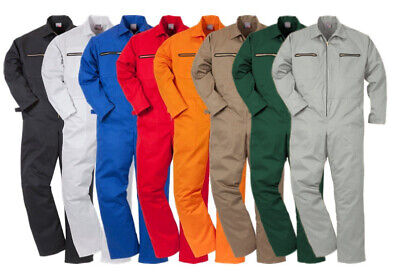 KLM Kleding Clothing Overalls Coveralls Heavy 100% Cotton Boiler Suit