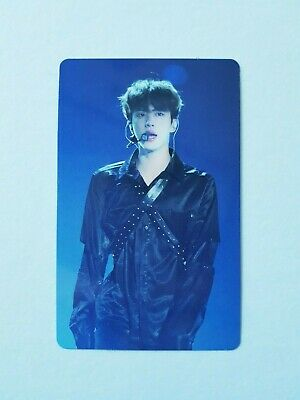 "K-Pop Bts World Tour ""Love Yourself"" Blu-Ray Europe Official Jin Photocard"