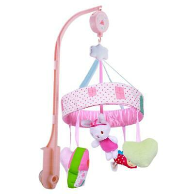 Baby Cartoon Animal Rattle Pacify Toys Infant Bed Crib Hanging Music Bell #gib