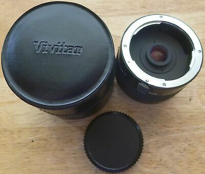 VIVITAR 70-150mm 2X MATCHED MULTIPLIER TELECONVERTER for Pentax K mount - JAPAN