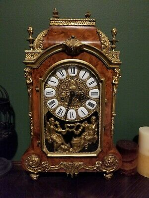 Vintage Franz hermle mantle/inlay clock