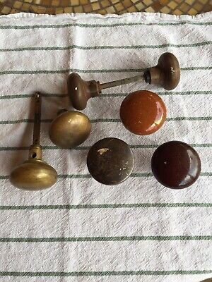 Antique/Vintage Lot Miscellaneous Door Knobs