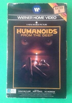 HUMANOIDS FROM THE DEEP Doug McClure Ann Turkel Vic Morrow BETA Videocassette