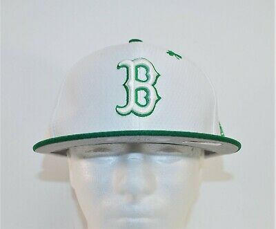 a18145faa9e585 New Era MLB Boston Red Sox St Patricks Day 59FIFTY Green Fitted Hat Cap Sz 7