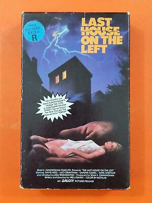 LAST HOUSE ON THE LEFT David Hess Lucy Grantham R 1985 Orion BETA MAX TAPE