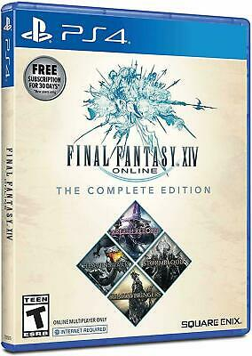 Final Fantasy XIV 14 Online COMPLETE Edition Shadowbringers (PS4) BRAND NEW!!!!!