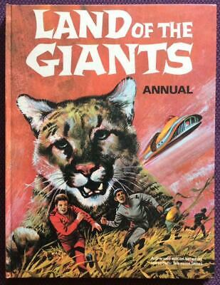 Land of the Giants Annual 1970. Hardback UK. Rare. Unclipped VF+ condition.
