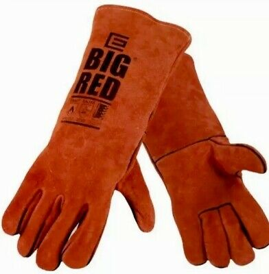 Elliot BIG RED Welding Gloves size L Industrial Safety Durable Leather Eliot