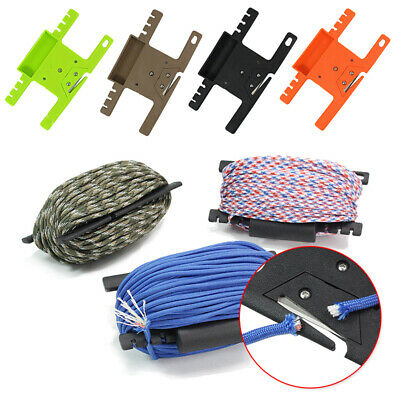 Rope Winder Organizer Bracket Multifunction Parachute Cord Survival Useful