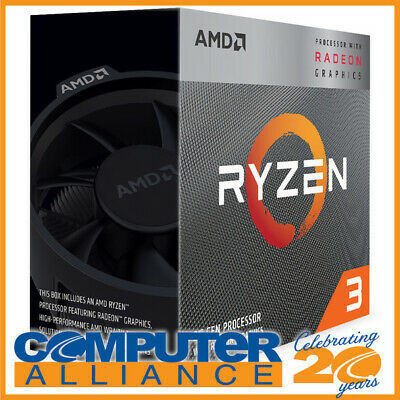 AMD AM4 Ryzen 3 3200G Quad Core 3.6GHz 65W CPU YD3200C5FHBOX with Vega 8 Graphic