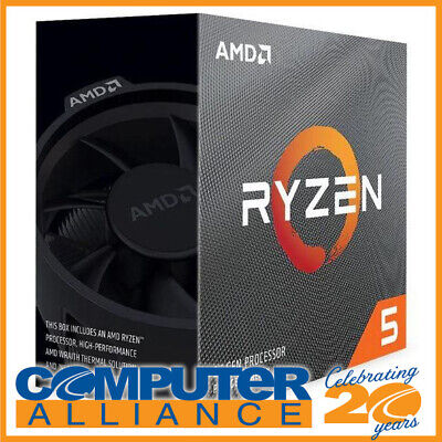 AMD AM4 Ryzen 5 3600 Six Core 3.6GHz 65W CPU 100-100000031BOX