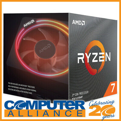 AMD AM4 Ryzen 7 3700X Eight Core 3.6GHz 65W CPU 100-100000071BOX