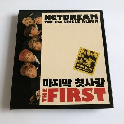 NCT DREAM THE 1st single Album CD + Booklet Free shipping