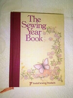 TOOTAL The Sewing Year Book 1984 Gerald English Anne Morrow unused RARE VGC