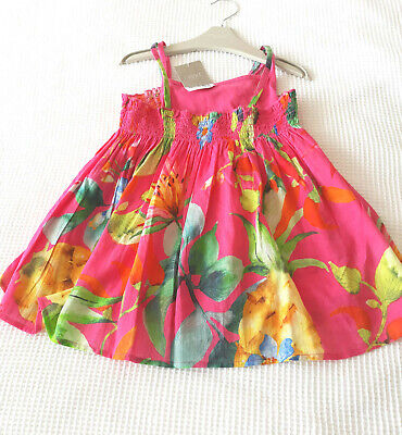 Next Girls Pink 2 Piece Cami Tunic Top  Age 6 Years BNWT  Tag £16