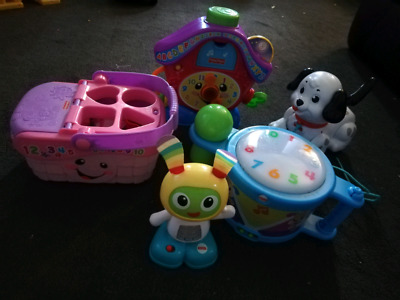 Fisher Price Bundle of Baby Toys