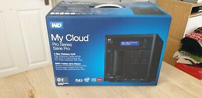 WD PR4100 WESTERN Digital My Cloud Pro 4-bay NAS storage PLEX media