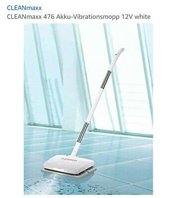 CLEANmaxx 476 Akku-Vibrationsmopp 12V white