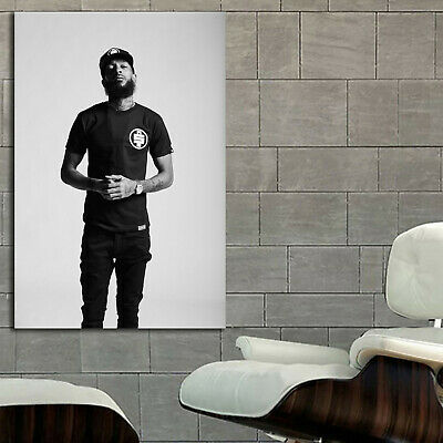 #24 Nipsey Hussle Poster Hip Hop Musician 36x48 inch More Size Canvas Frame