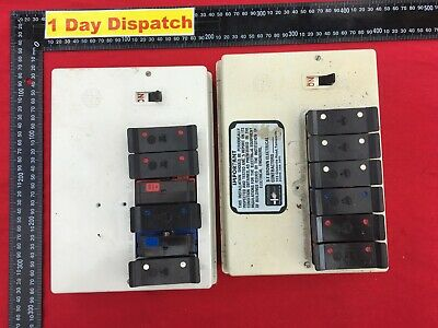 Joblot of two vintage fuses box fuse holders various size as picture