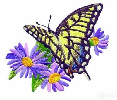 45 Butterfly Garden Designs for Machine Embroidery brother PES Janome JEF