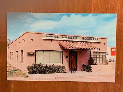 Texas, TX, El Paso Tigua General Hospital, Osteopathic Institution, Mint ca 1950