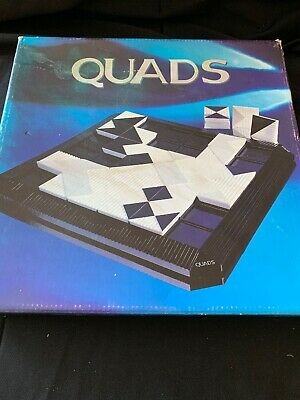 QUADS Wooden Tile Board Game -  Gigamic Wimereux France - 1995