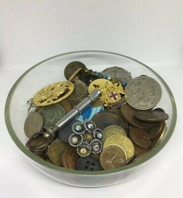 Large Antique Vintage Job Lot European Mixed Collectable Coins Collection