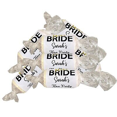 TEAM BRIDE Mini Love Hearts Hen Night Party Favours Sweets Personalised