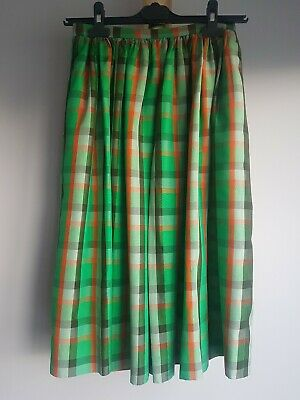Celine Vintage 100% Silk Skirt Size 38 UK6-8