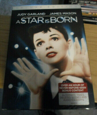 A Star is Born DVD 2 Disc Deluxe Edition Judy Garland Slip Cover New Sealed