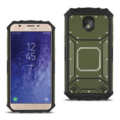 SAMSUNG GALAXY J7 (2018) Metallic Front Cover Case In Gray