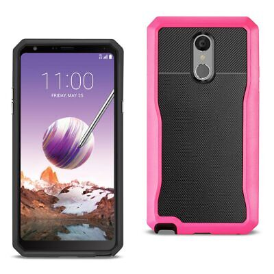 Reiko LG STYLO 4 Full Coverage Shockproof Case In Pink