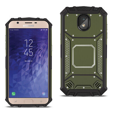 SAMSUNG GALAXY J3 (2018) Metallic Front Cover Case In Gray
