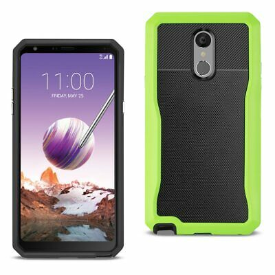 Reiko LG STYLO 4 Full Coverage Shockproof Case In Green