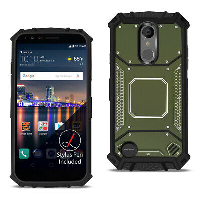 LG ARISTO 3 Metallic Front Cover Case In Gray