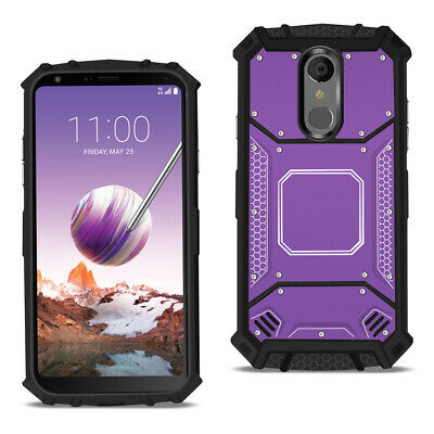 LG STYLO 4 Metallic Front Cover Case In Purple