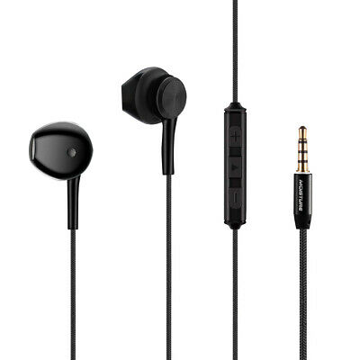 High Quality Sound  Universal In-ear Earphone In Black