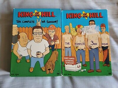 King of the Hill: Complete Seasons 2 & 3 (DVD, 7-Disc Set) VERY GOOD CONDITION!!