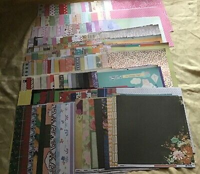 200 Assorted 12x12 pattern papers #1