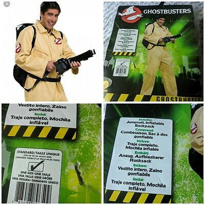 Rubie's No. 88965 Ghostbusters Adult Costume Men's One Size