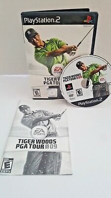 Tiger Woods Pga Tour 09 (Sony Playstation 2, 2008)